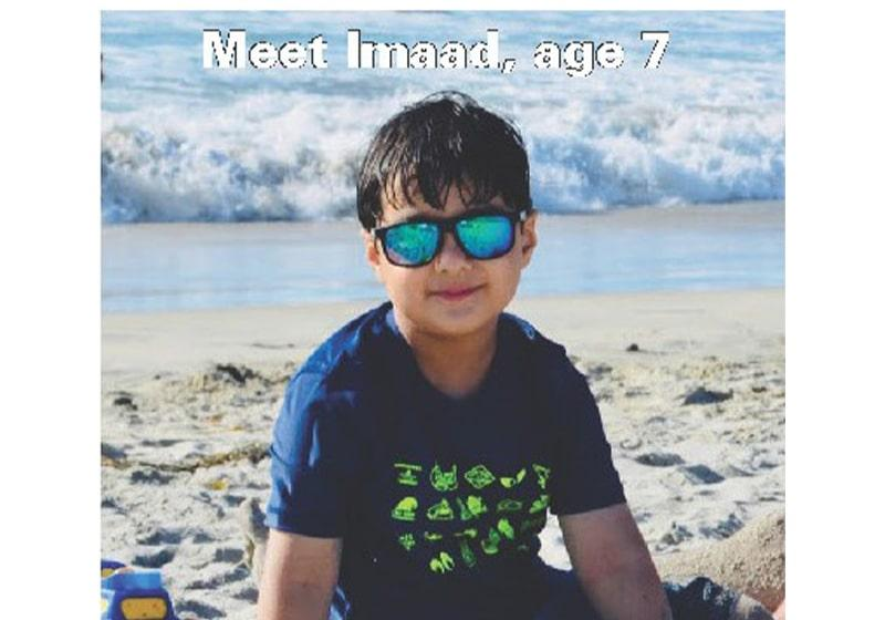 Introducing Imaad, a very super student! Thanks to Kumon of South Beaverton