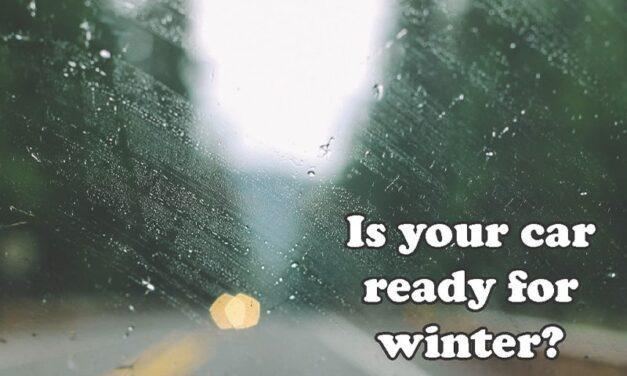 Easy maintenance tips to see your car through the winter months: Fall is a good time to weather-proof your car