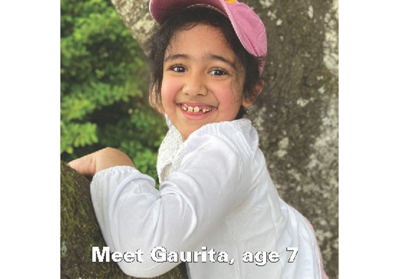 Introducing Gaurita, a very super student! Thanks to Kumon of South Beaverton
